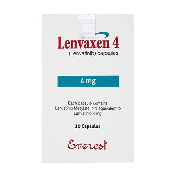 Thuốc ung thư Lenvaxen 4mg