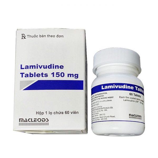 Thuốc Macleods Lamivudine Tablets 150mg