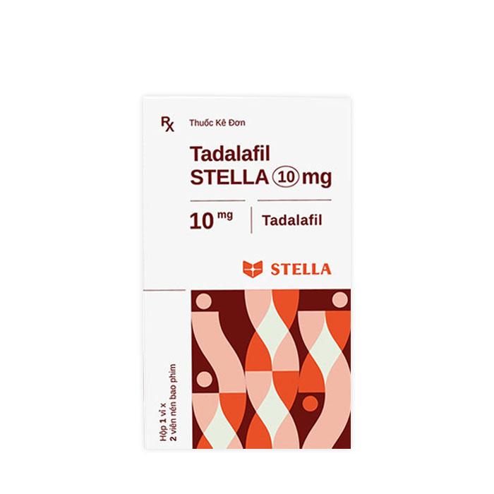 Thuốc cường dương Tadalafil Stella 10mg