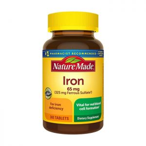 Nature Made Iron 65mg