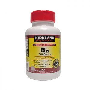 Kirkland Vitamin B12 5000mcg
