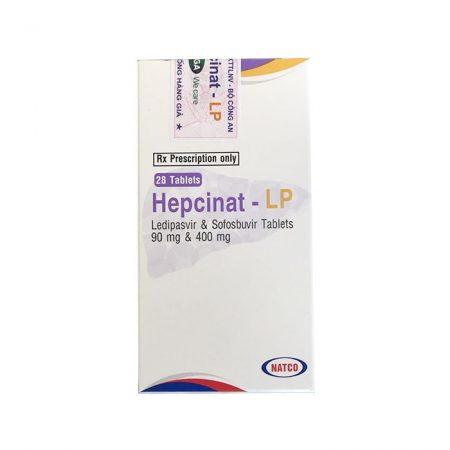 Thuốc Natco Hepcinat LP 90mg/400mg, Hộp 28 viên