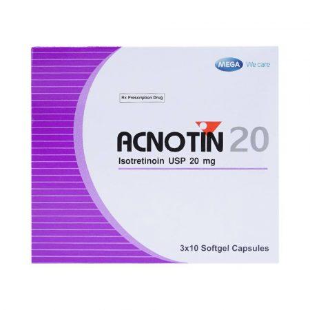 Thuốc trị mụn Acnotin 20mg