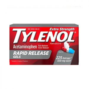 Tylenol Extra Strength Rapid Release Gels 500mg