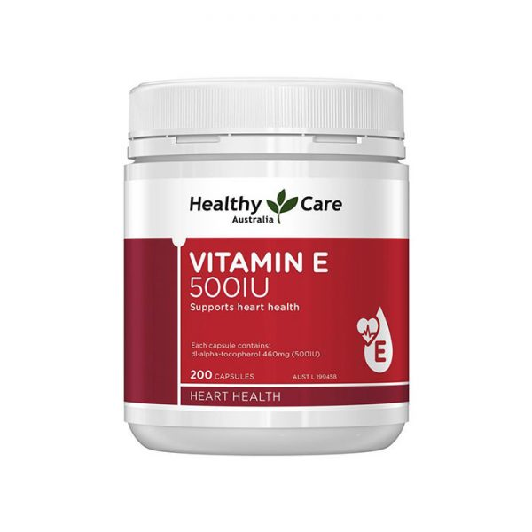 Viên uống Vitamin E 500IU Healthy Care