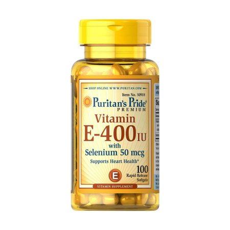 Vitamin E-400IU with Selenium 50 mcg