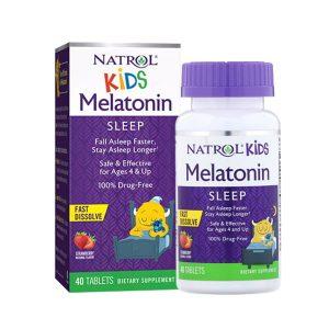 Kẹo ngậm giúp trẻ ngủ ngon Natrol Kids Melatonin Sleep