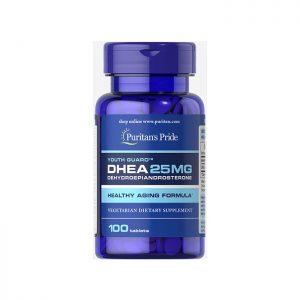 Viên uống tăng nội tiết tố nữ Puritan's Pride DHEA 25mg