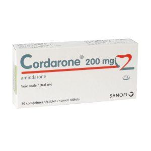 Thuốc tim mạch Sanofi Cordarone 200mg