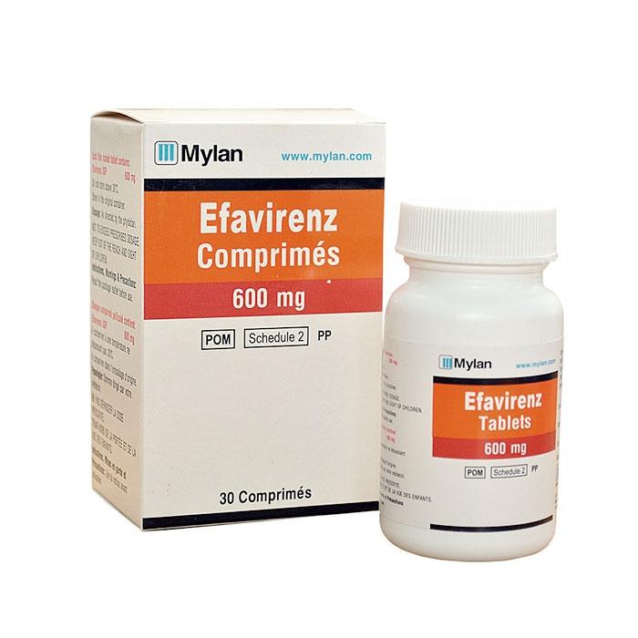Thuốc Mylan Efavirenz 600mg