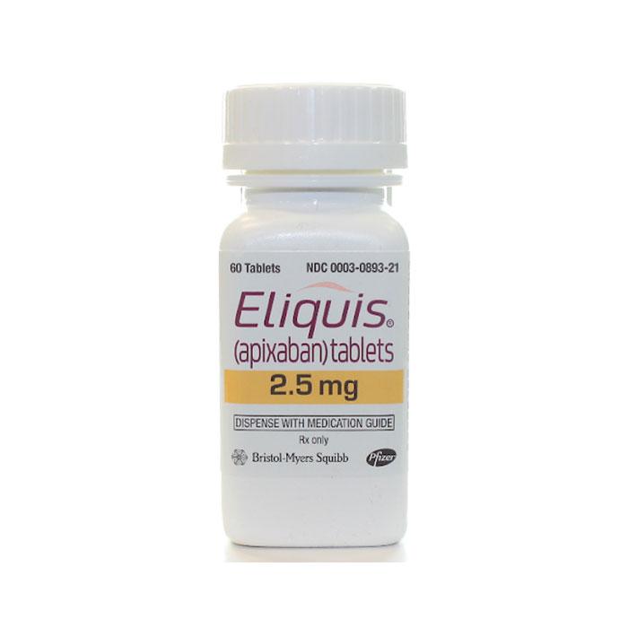 Thuốc Eliquis (apixaban) Tablets 2.5mg