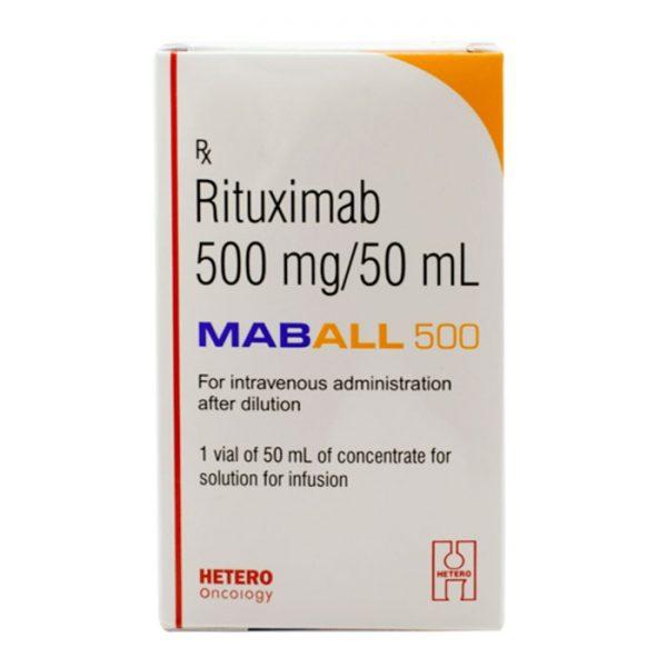 Thuốc Hetero Maball 500 Rituximab 500mg/50ml