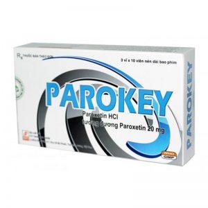 Thuốc hướng thần Davipharm Parokey Paroxetin 20mg
