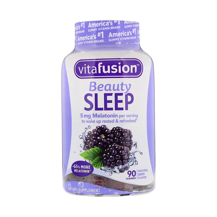 Kẹo dẻo ngủ ngon Vitafusion Beauty Sleep Gummies