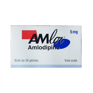 Thuốc Amlor Cap 5mg