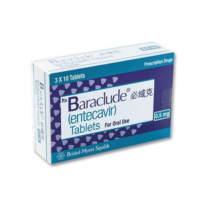 Thuốc Bristol Myers Baraclude 0,5mg