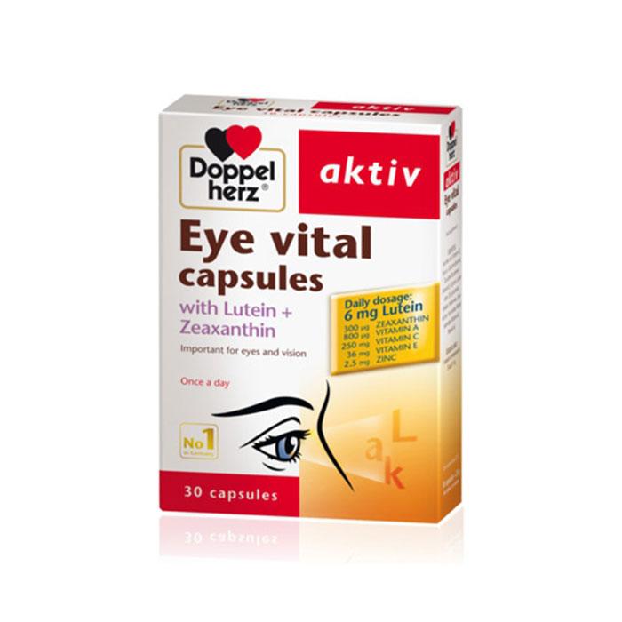 Viên uống bổ mắt Doppelherz Eye Vital Capsules
