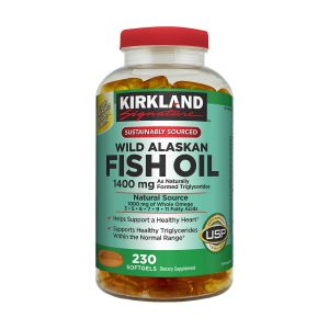 Kirkland Wild Alaskan Fish Oil 1400mg