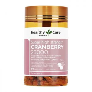 Viên uống Healthy Care Cranberry 25000mg