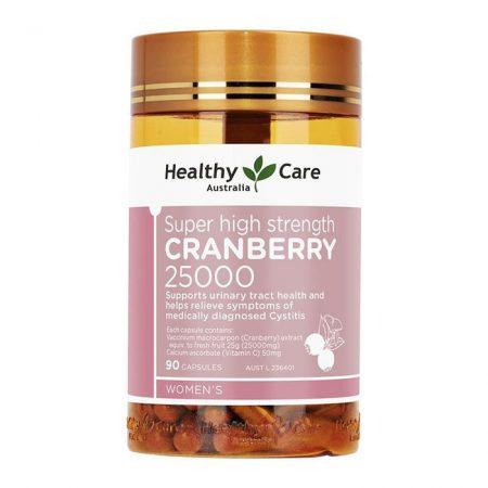 Viên uống Healthy Care Cranberry 25000mg