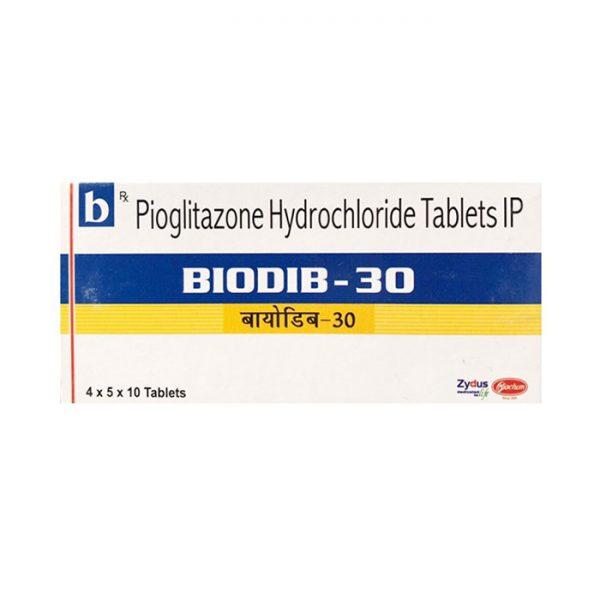 Thuốc tiểu đường BIODIB 30mg