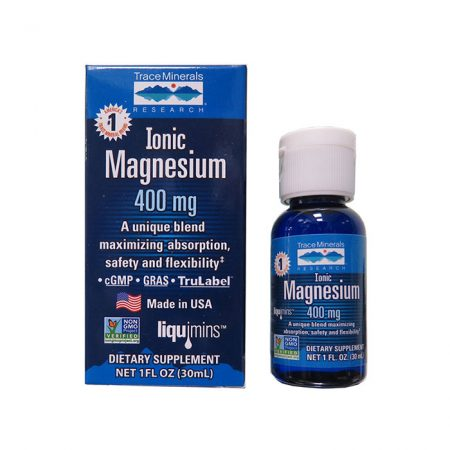 TraceMinerals Ionic Magnesium 400mg