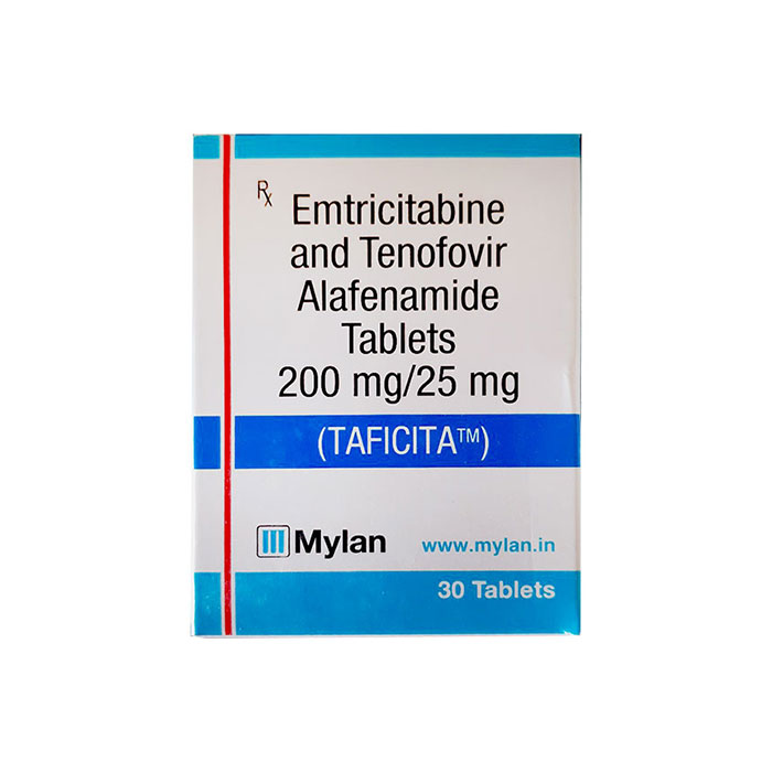 Thuốc Mylan TAFICITA ARV Emtricitabine/Tenofovir 200mg/25mg