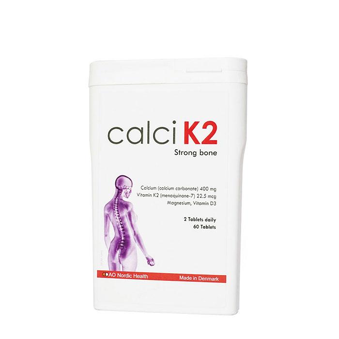 DAO Nordic Health Calci K2 Hộp 60 viên