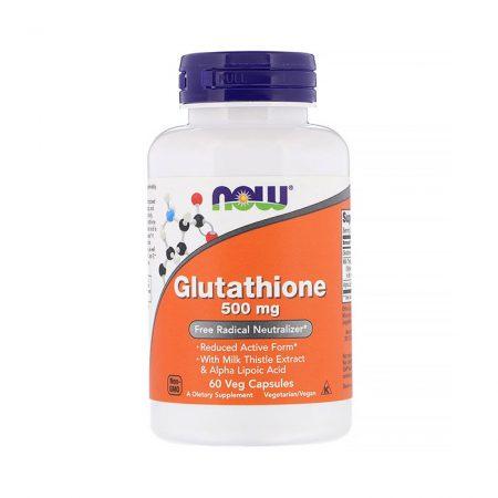 Now Glutathione 500 mg