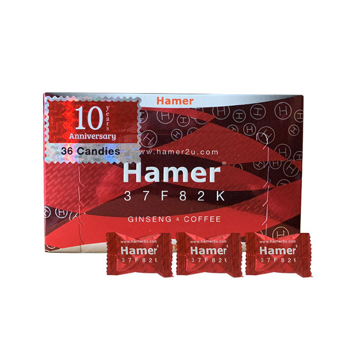 Kẹo sâm Hamer Ginseng Coffee