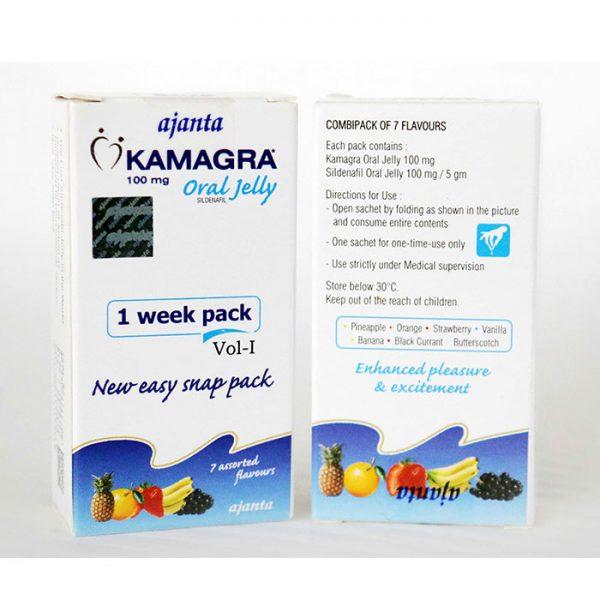 Thuốc Kamagra Oral Jelly 100mg Vol 1