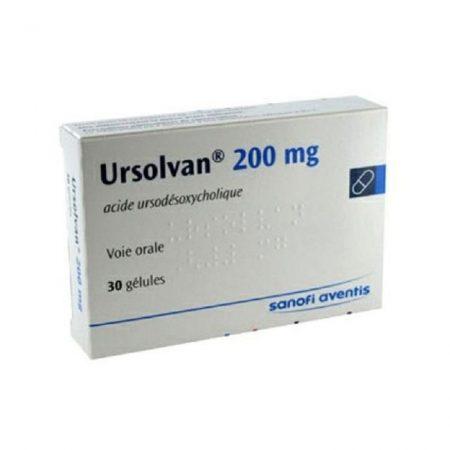 Thuốc Ursolvan 200mg