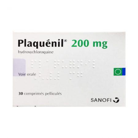 Sanofi Plaquenil 200mg Hydroxychloroquine 30 viên