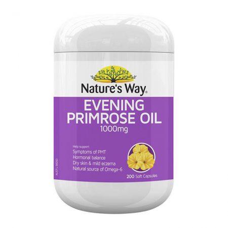 Nature's Way Evening Primrose Oil 1000mg 200 viên