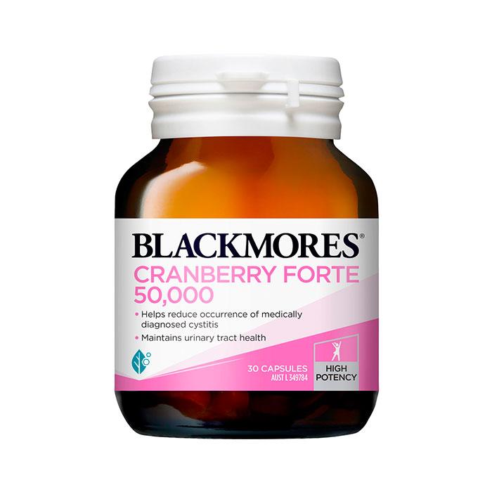 Blackmores Cranberry Forte 50000mg 30 viên