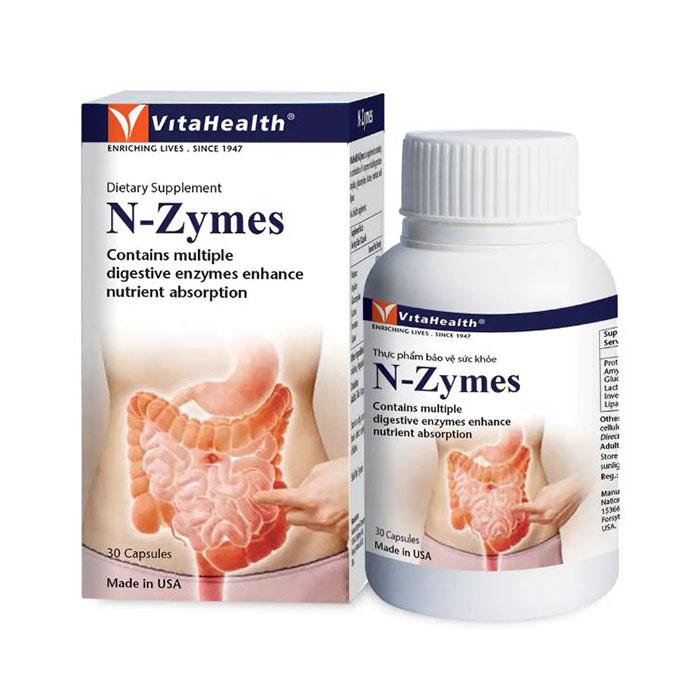VitaHealth N-Zymes 30 viên