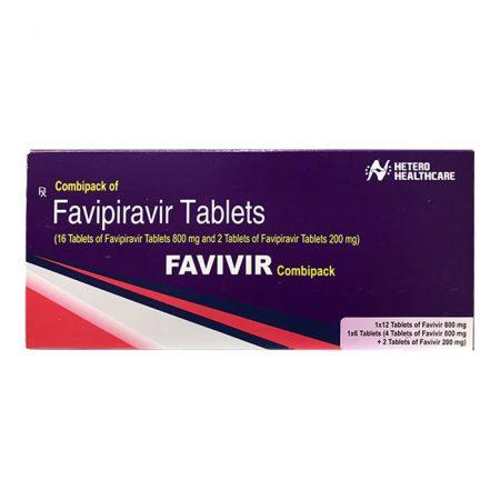 Thuốc Favivir (Favipiravir 800mg) điều trị bệnh COVID-19